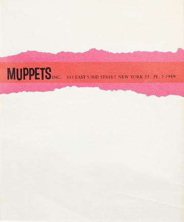 1963 Muppets letterhead