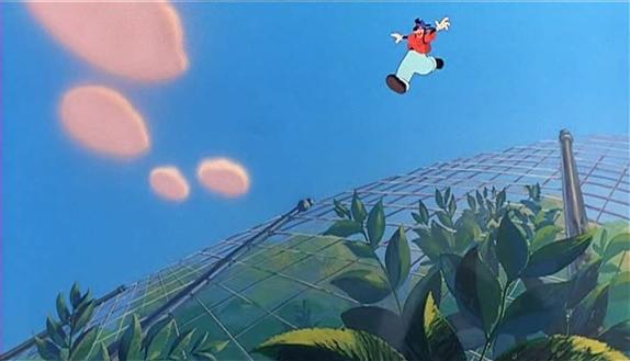 The Goofy Movie animation