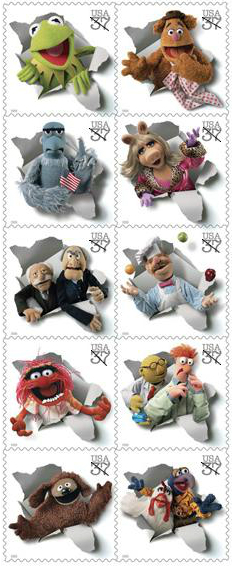 Muppet stamps