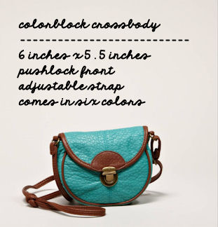 American Eagle Colorblock Crossbody -- This Happy Place Blog