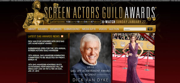 Dick Van Dyke: Screen Actors Guild Awards