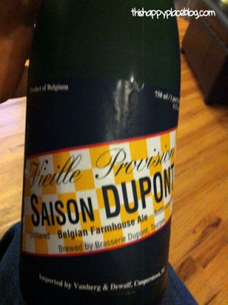Saison Dupont -- Magic Kingdom's newest beer