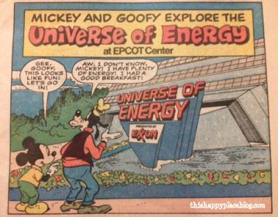 Epcot Center Mickey and Goofy explore the Universe of Energy - Page 1