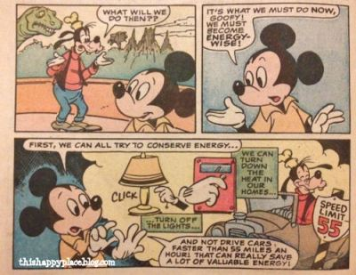 Epcot Center Mickey and Goofy explore the Universe of Energy - Page 3