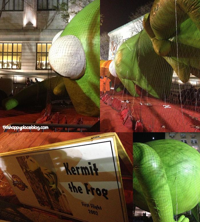 Macys Thanksgiving Day Parade 2012 - Kermit the Frog