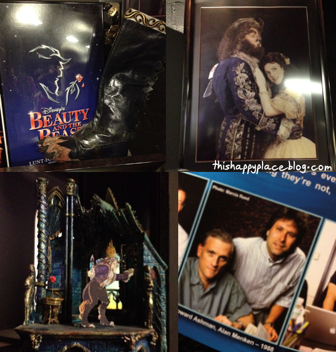 New Amsterdam Theater - Prop Tour - Beauty and the Beast