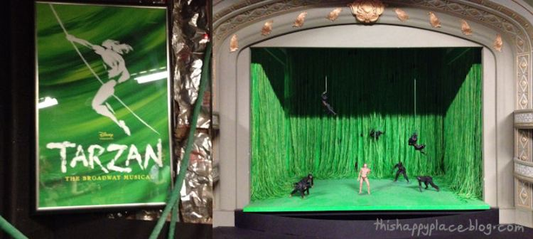 New Amsterdam Theater - Prop Tour - Tarzan