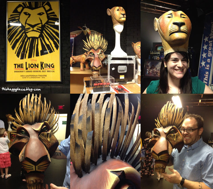 New Amsterdam Theater - Prop Tour - The Lion King