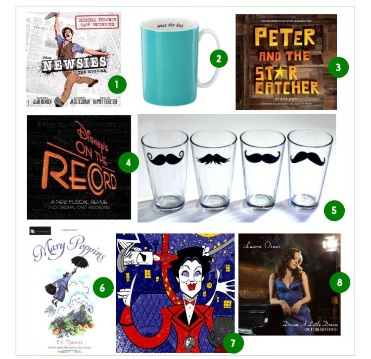This Happy Place Gift Guide - Broadway for the Holidays