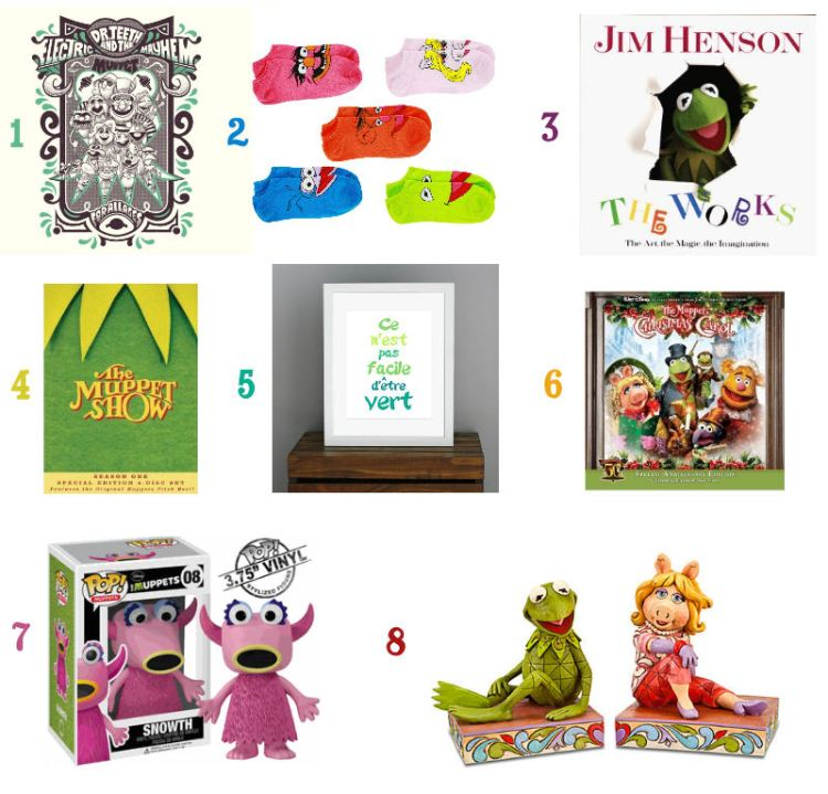 This Happy Place Gift Guide - Muppets for the Holidays