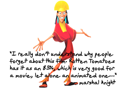Endearing and Underrated Film Series - The Emperor's New Groove by Marshal Knight