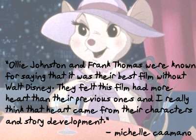 Endearing and Underrated Film Series - The Rescuers by Michelle Caamano