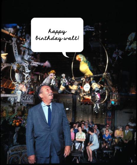 Happy Birthday Walt Disney