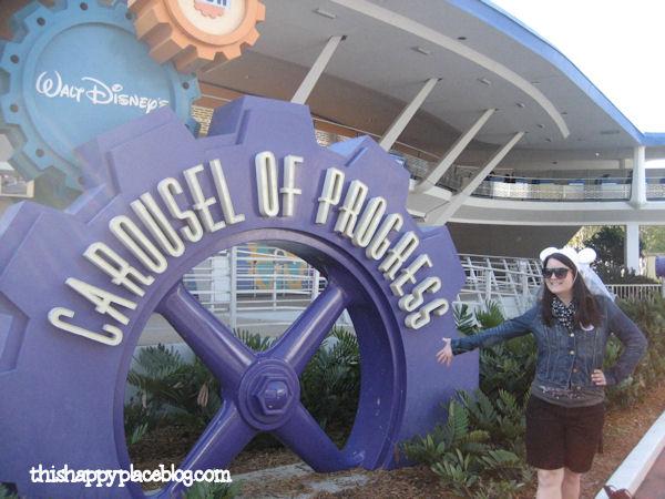 Carousel of Progress Magic Kingdom 2011