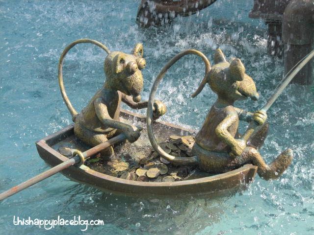 Estelle's Hollywood Studios Birthday MuppetVision Rats