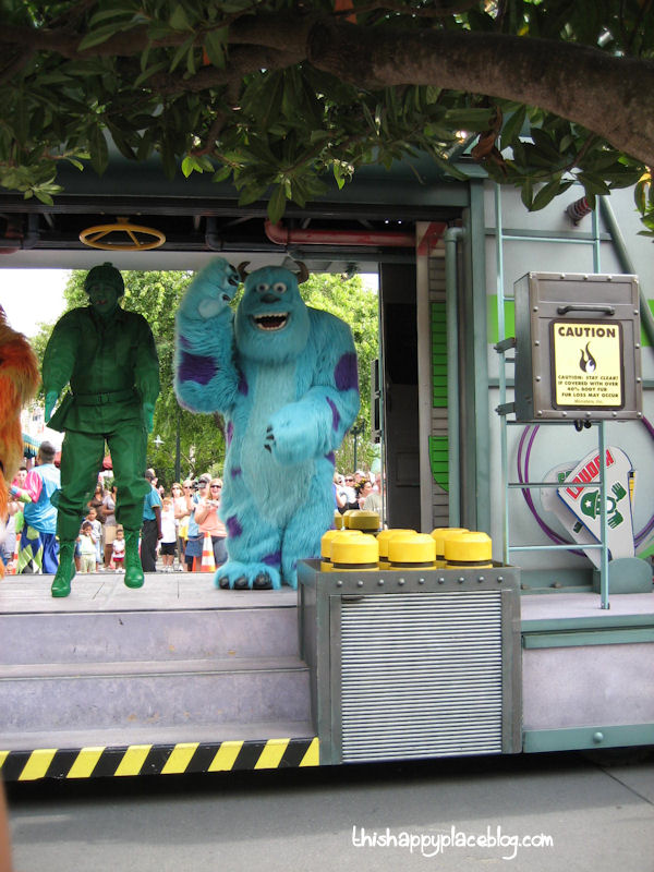 Estelle's Hollywood Studios Monsters Inc