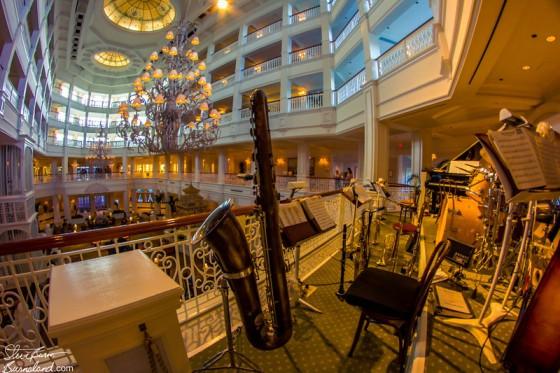 Music at the Grand Floridian Burnsland