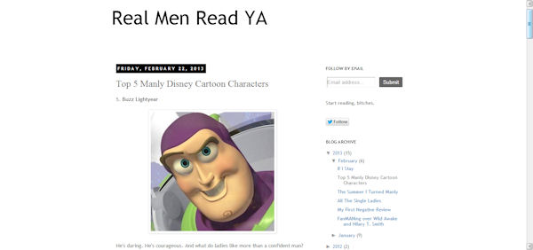 Real Men Read YA