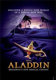 Aladdin the Musical Poster Toronto
