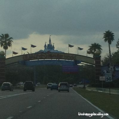 New York to Florida Road Trip - Walt Disney World entrance