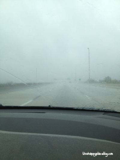 New York to Florida Road Trip - The Pouring Rain