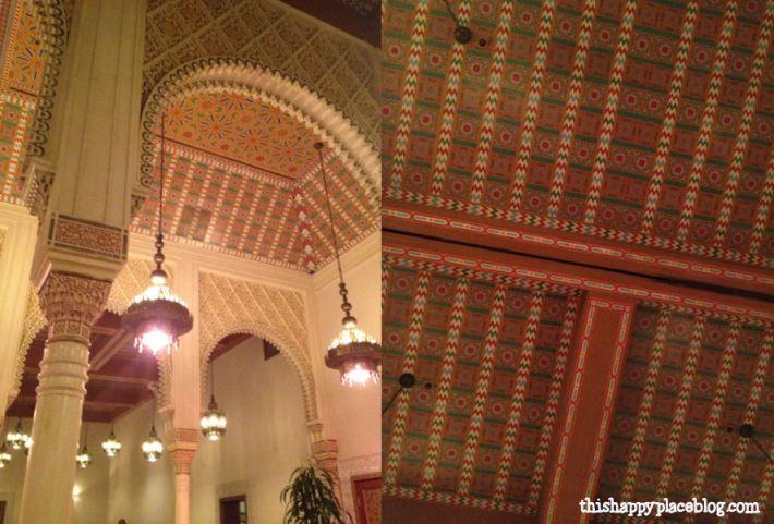 Restaurant Marrakesh in Morocco Interior