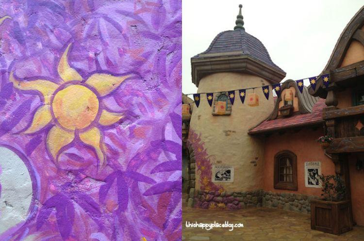 Tangled Bathrooms Magic Kingdom