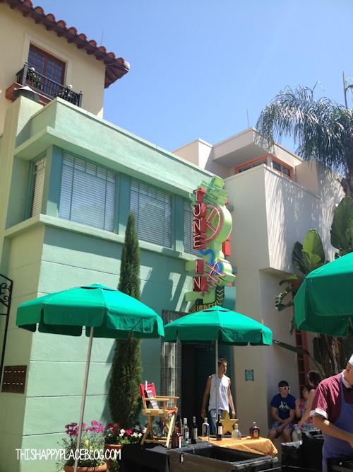 Tune-in Lounge Disney Hollywood Studios 2013