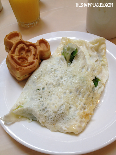 Crystal Palace Magic Kingdom Omelet