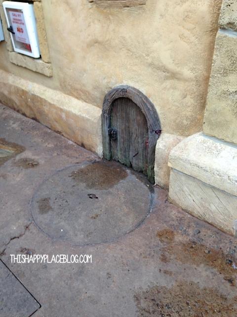 New Fantasyland Little Door
