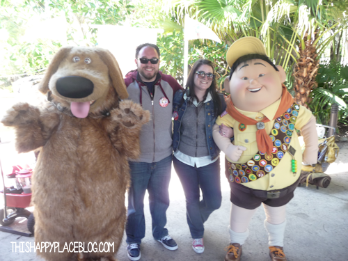 Russell and Dug Meet and Greet in Animal Kingdom