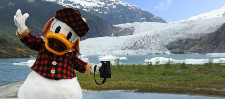 Disney Cruise Line Alaska Donald