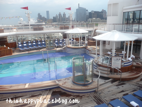 Disney Cruise Line Magic Adult Only Pool Area