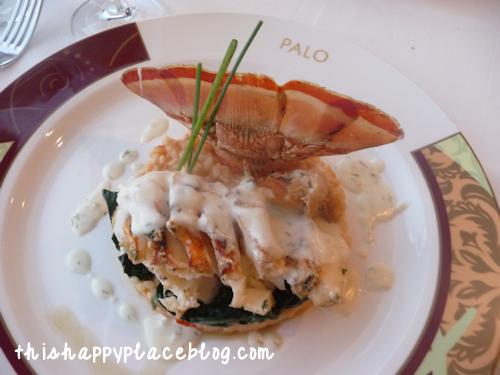 Disney Cruise Line Magic Palo Meal