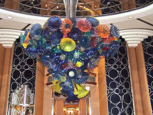 Disney Cruise Line Magic Original Chandelier