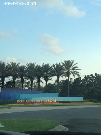 Pop Century Resort Walt Disney World March 2013