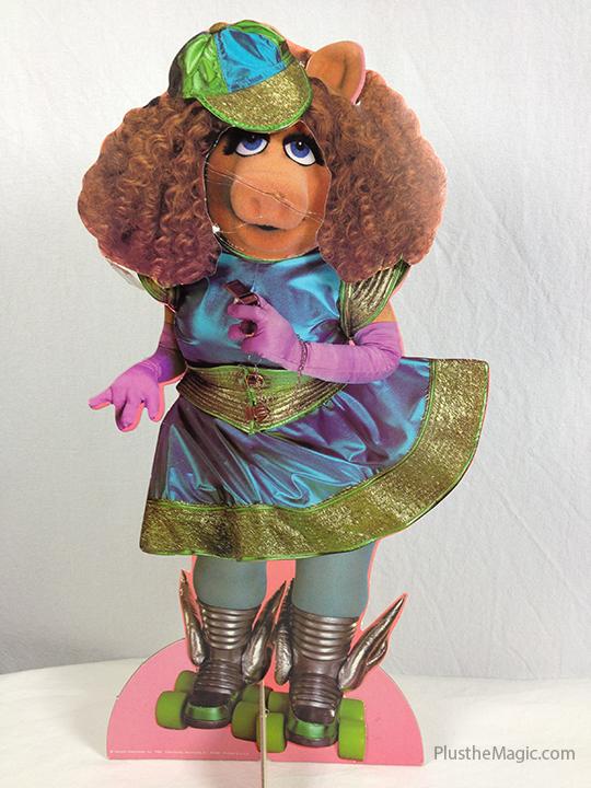 Miss Piggy Paper Doll Set Futuristic Roller Girl