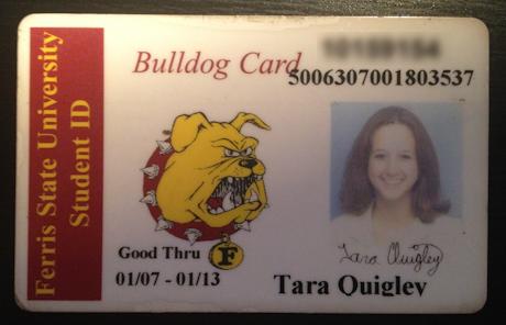 Tara Fiction Folio Student ID Monsters University