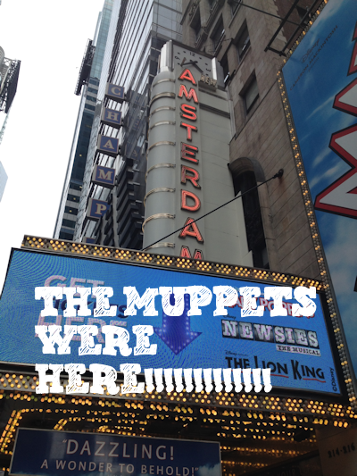 The Muppets Were Here New Amsterdam Theatre: Muppets and Alex Timbers gave a presentation in May for a future theater experience.