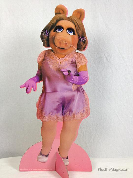 Miss Piggy Colorform Paper Doll Set -- Lingerie