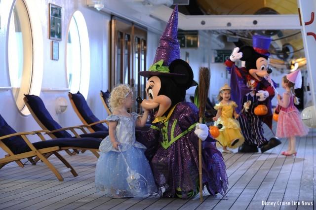Disney Cruise Line Halloween Festivities 2013