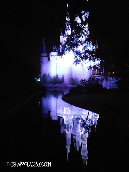 Cinderellas Castle in November 2011 Holidays