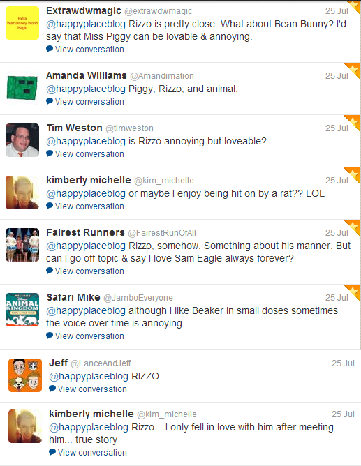Lovable and Annoying Muppet responses from Twitter followers: Muppet Monday feature