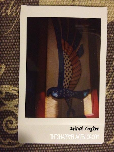 Animal Kingdom Decor Instax Picture