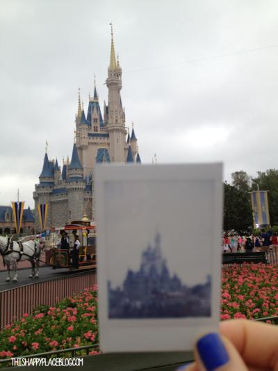 Cinderella's Castle Walt Disney World Instax Mini Picture