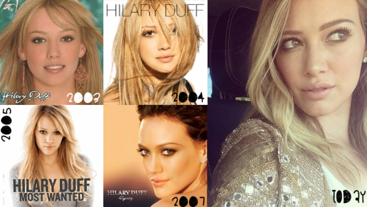 Hilary Duff Music from Hollywood Records Disney Company, celebrating 10 years since Metamorphosis was released