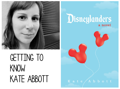 Interview with Kate Abbott Author of Disneylanders
