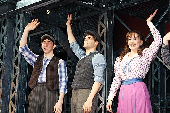 Ben Fanhkauser Newsies Broadway