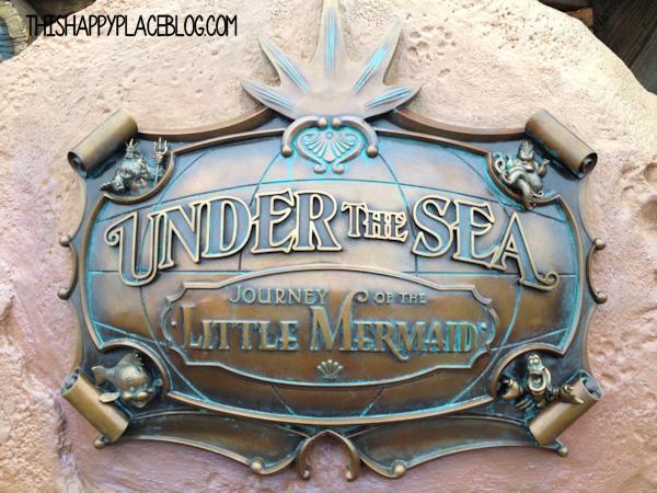 Under the Sea Walt Disney World Front