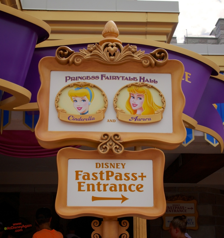 Fairytale Hall Magic Kingdom Which Princess
